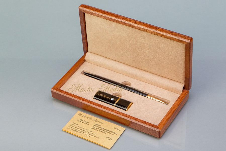 Подарочный набор Флеш-память USB 2.0 и ручка
