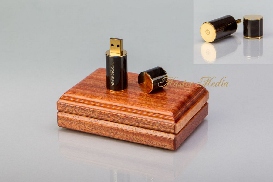 Флеш-память USB 2.0 с позолочен разъемом