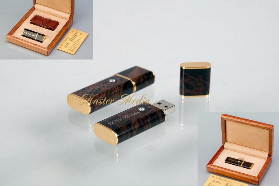 Подарочная Флеш-память USB 2.0 со стразом